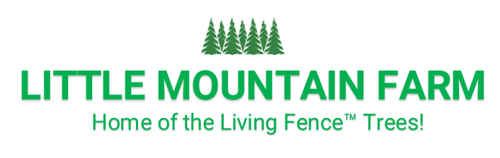 Living Fence™ Trees at Little Mountain View Farm Logo
